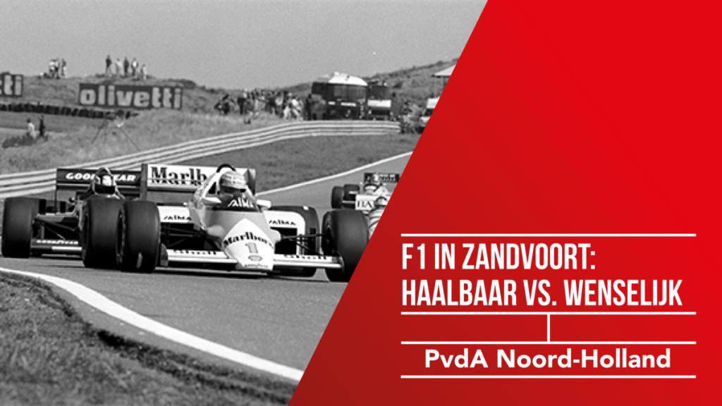 Formule 1 Circuit In Zandvoort Haalbaarheid Versus
